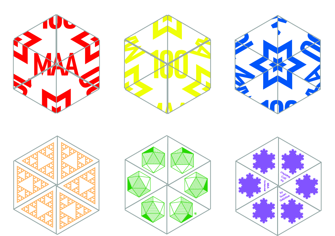 Maa centennial hexahexaflexagon for Hexahexaflexagon template