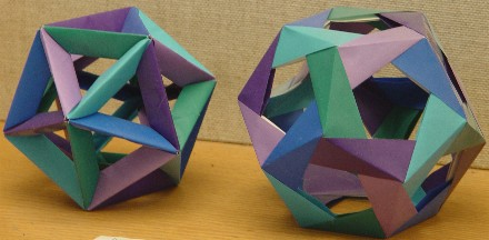 Paper model tetrahedron   life   pinterest   paper, paper models.